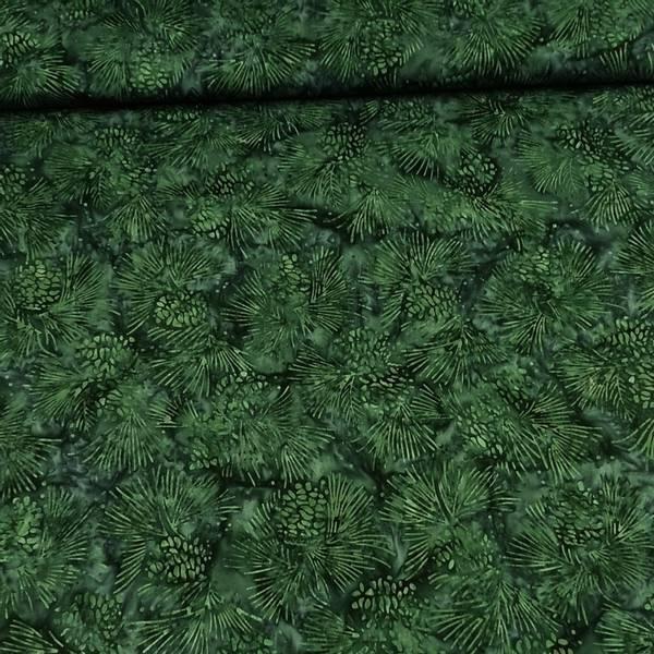 Bilde av Fairytale - mørkgrønn m 5 cm kongler