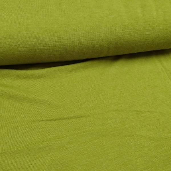 Bilde av 1,3 m Merinoull - jersey - gulgrønn