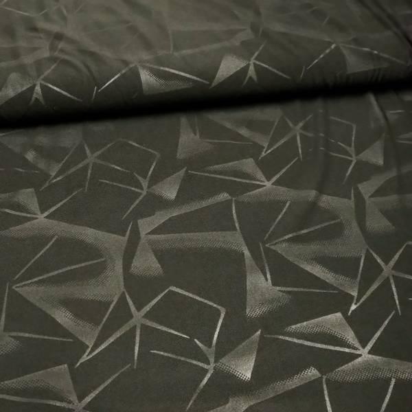 Bilde av Funksjonsjersey - sportjersey, koksgrå, grafisk mønster