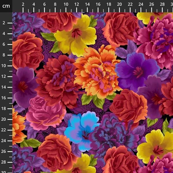 Bilde av Noble Menagerie - 7-12 cm oransje-lilla-gule blomster