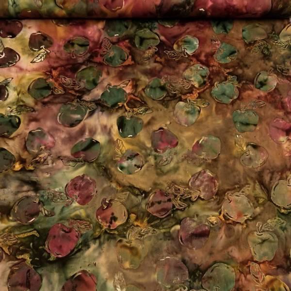 Bilde av Fairytale - 7 cm grønne epler på grønn-rød-gul