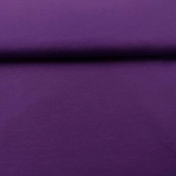 Bilde av 60 cm Mørk lilla ensfarget bomullsjersey