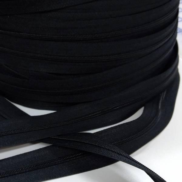 Bilde av Spiralglidelås - 4 mm metervare - sort