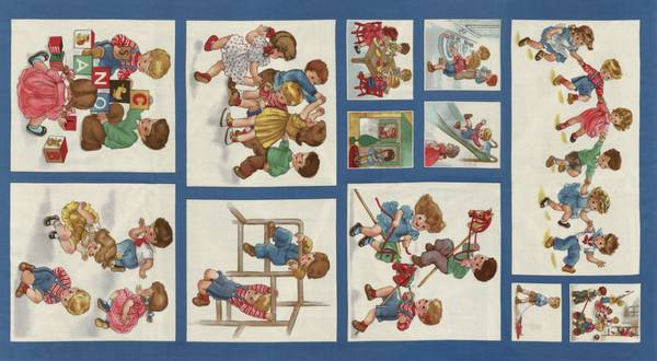 Bilde av Play All Day - Rapport - retro barnebilder