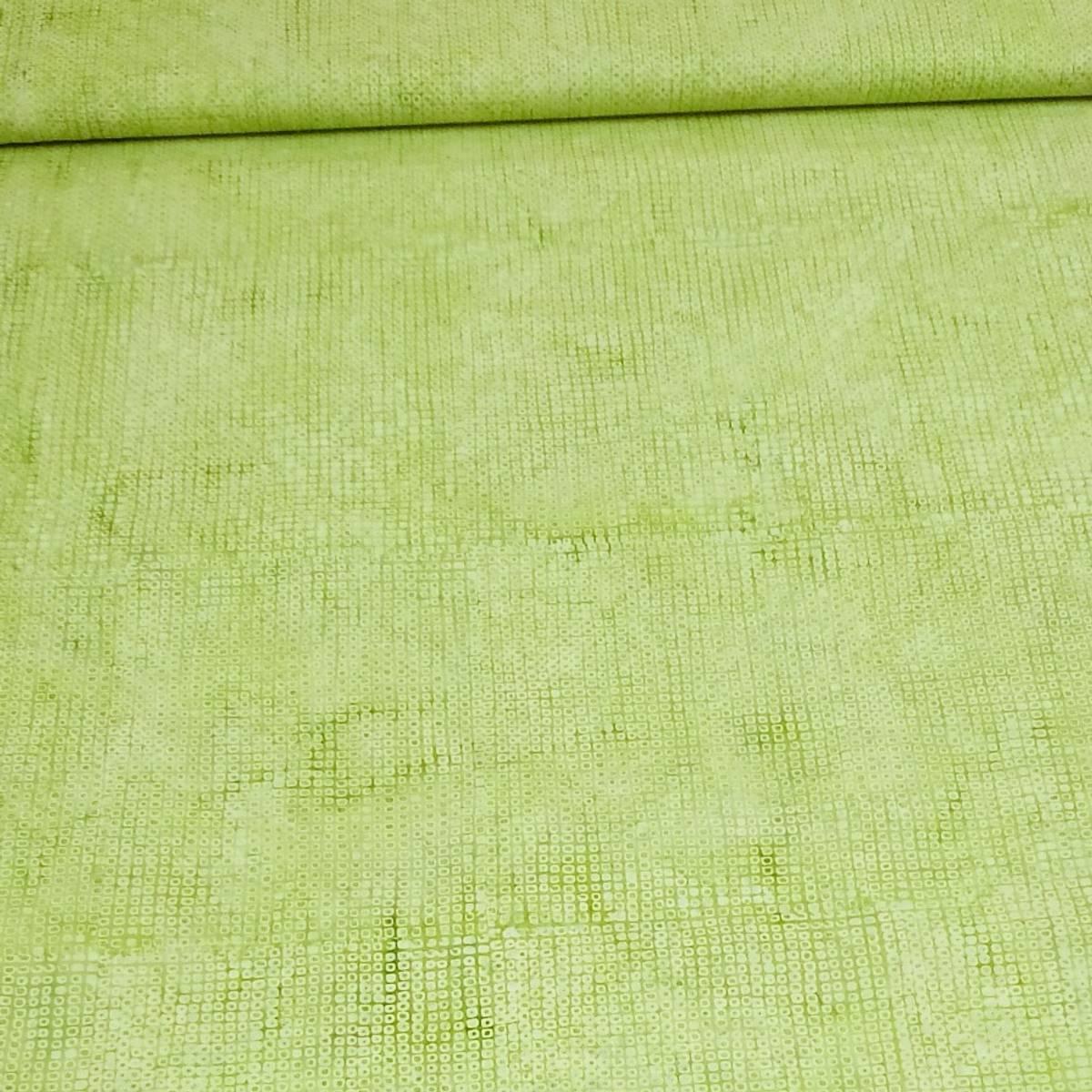 Batikk - lysgrønne 5 mm kvadrater
