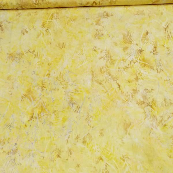 Bilde av Fairytale - gul mønstret m litt brun i