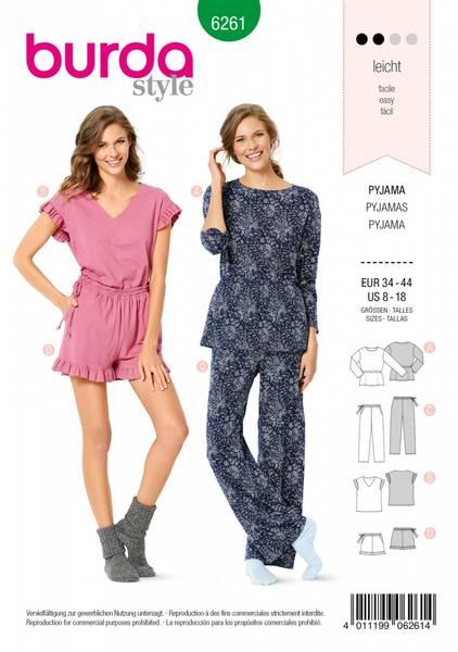 Bilde av 6261 - Burda - Pyjamas