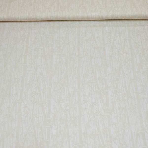 Bilde av Batikk - bambusmønster egghvit-offwhite