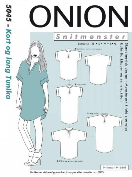 Bilde av Onion 5045 - kort & lang tunika