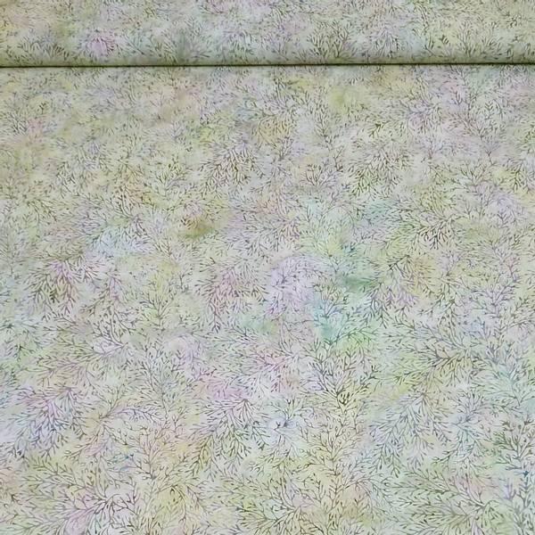 Bilde av Batikk - ca 8 cm ranker på pastell grønn-blå-lilla