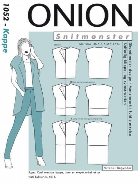 Bilde av Onion 1052 - enkel jakke/ kappe