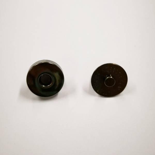 Bilde av Magnet knapp, sort blank, 2cm