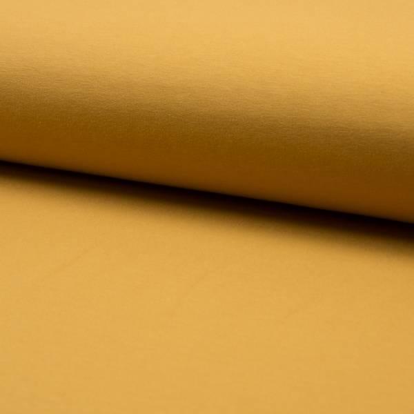 Bilde av 60 cm French Terry ensfarget - oker/ curry gul