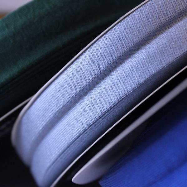 Bilde av Jersey kantbånd -  lysblå