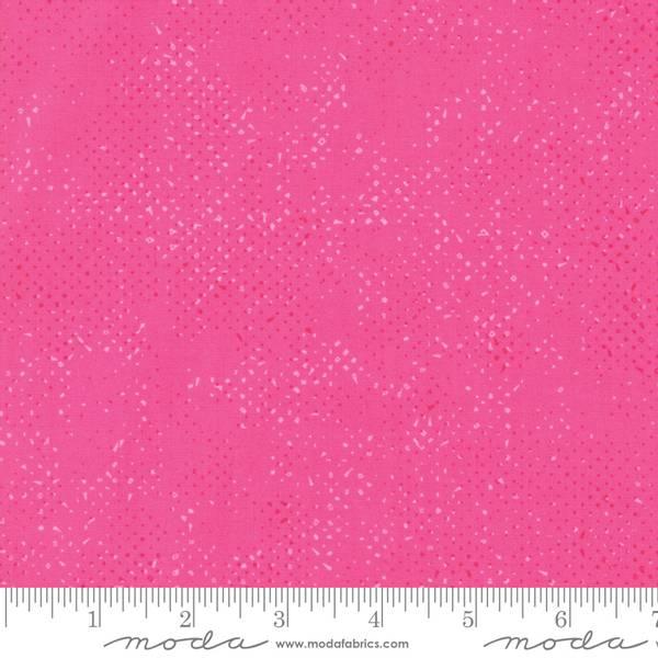 Bilde av Just Red - Spotted Hot Pink - sterk rosa prikkete