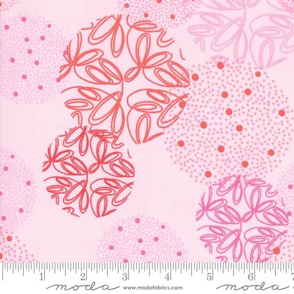 Bilde av Just Red - Powder Spheres - lys rosa m 5-8 cm sirkler