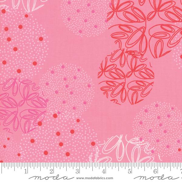 Bilde av Just Red - Candy Spheres - rosa m 5-8 cm sirkler