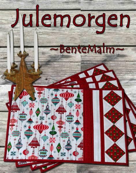 Bilde av Bente Malm 227 - Julemorgen - spisebrikker