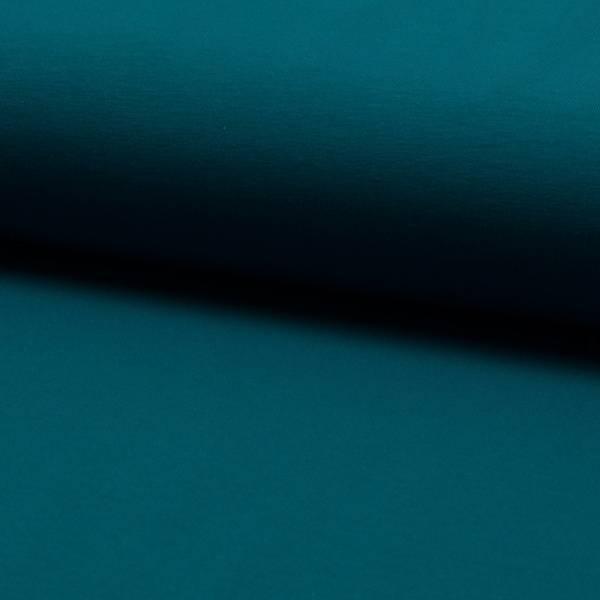 Bilde av French Terry ensfarget - petrol