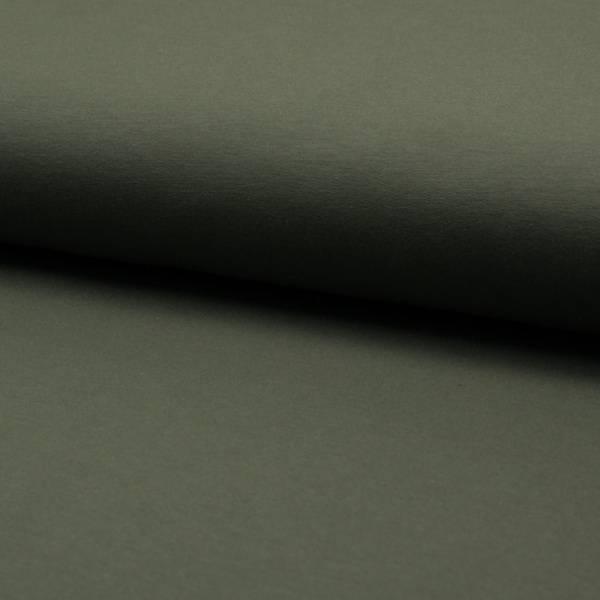 Bilde av French Terry ensfarget - khaki/ olivgrønn