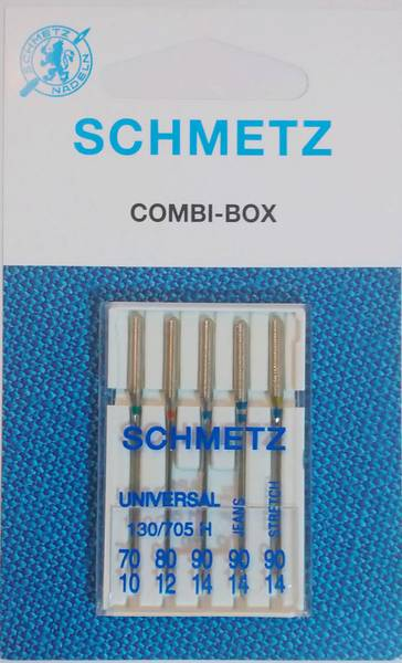 Bilde av Schmetz symaskinnåler - 5 st, combi-pakke