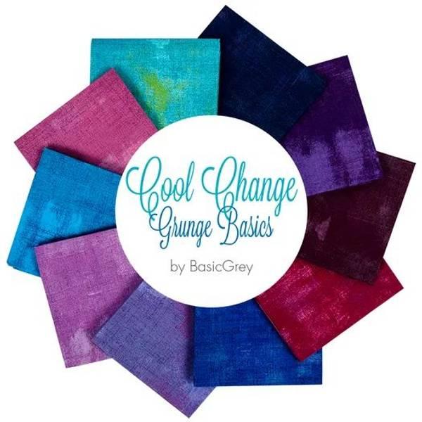 Bilde av Grunge Cool Change - Fat Quarter pakke - 10 st