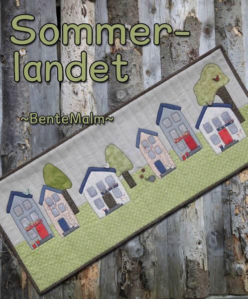 Bilde av Bente Malm 244 - Sommerlandet - veggteppe/løper