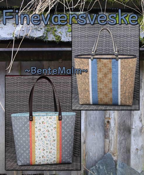 Bilde av Bente Malm 245 - Fineværsveske