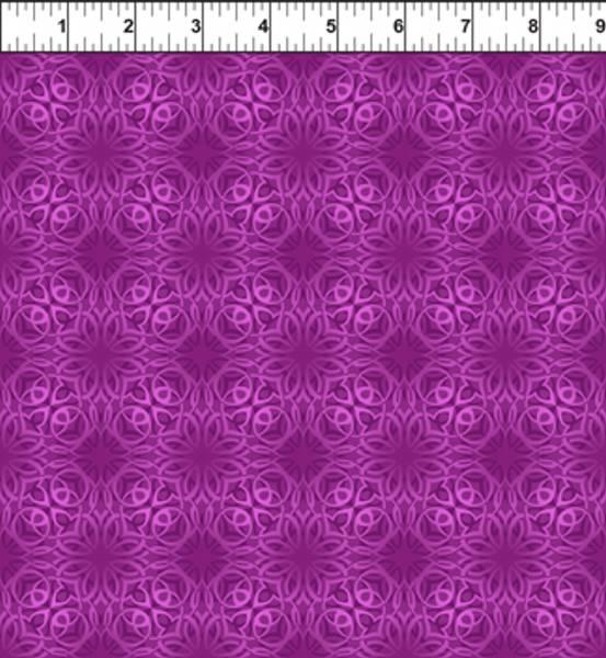 Bilde av 45 cm Treasures of Nature - lilla mønstret