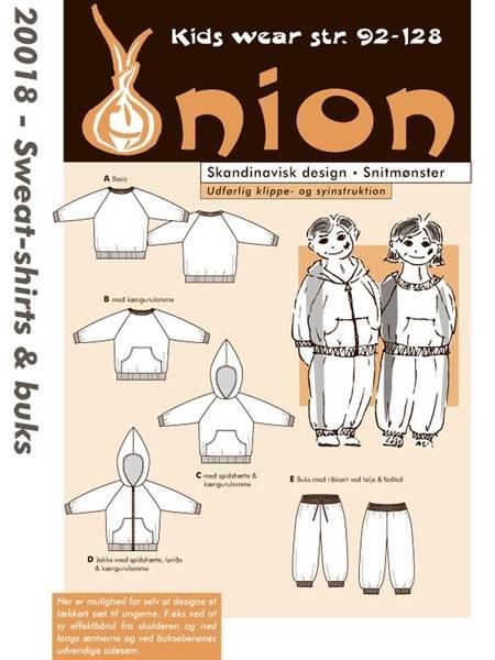 Bilde av Onion 20018 - hettegenser/-hettejakke, sweatshirts, bukse