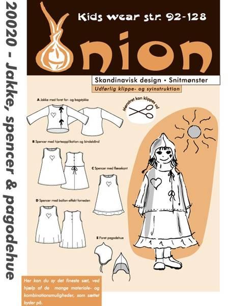 Bilde av Onion 20020 - jakke, kjole/pencer, pagodelue