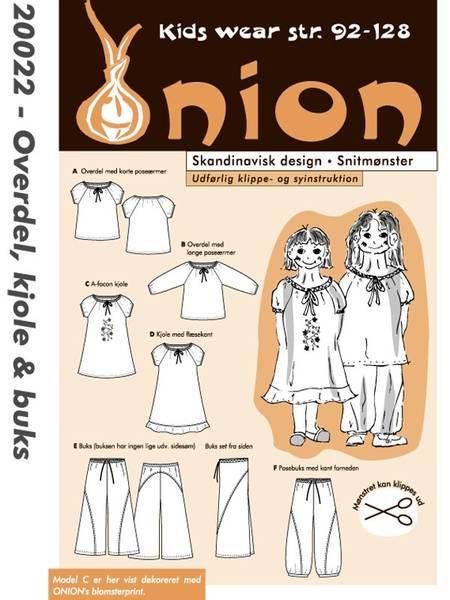 Bilde av Onion 20022 - overdel, kjole, bukse