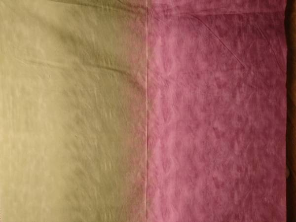 Bilde av Silent Inspirations - ombre - lys kaki-rødlilla