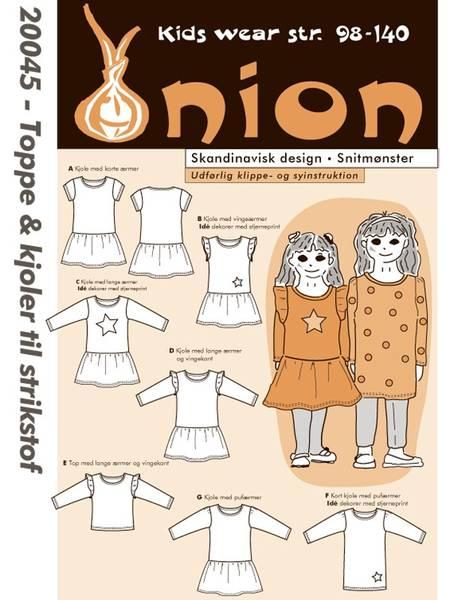 Bilde av Onion 20045 - Topper og kjoler til stretchstoff