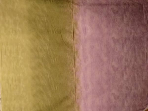 Bilde av Silent Inspirations - ombre - lys oliven-lys lilla