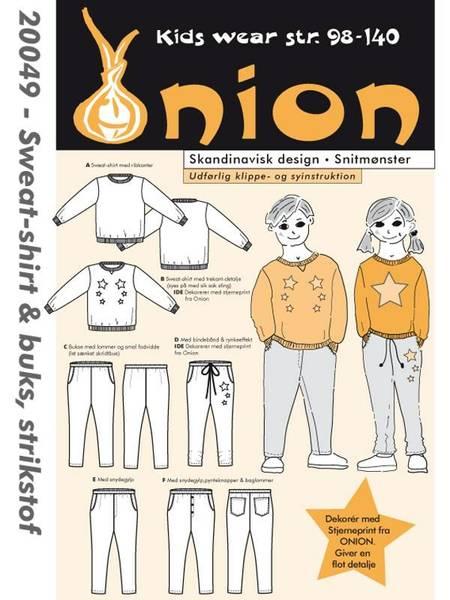 Bilde av Onion 20049 - Sweatshirt & bukse til stretchstoff