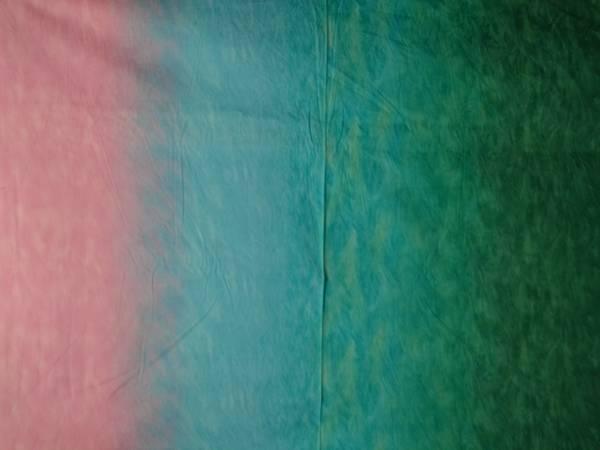 Bilde av Silent Inspirations - ombre - rosa-turkis-grønn