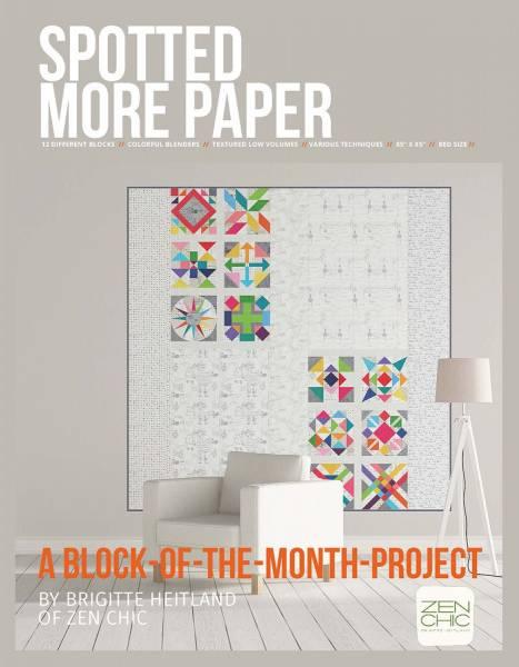Bilde av Spotted More Paper - 12 block teppe, Zen Chic