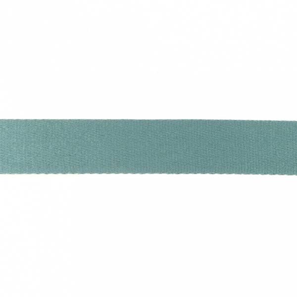Bilde av Webbing, bomullsbånd, 38 mm, dusblå