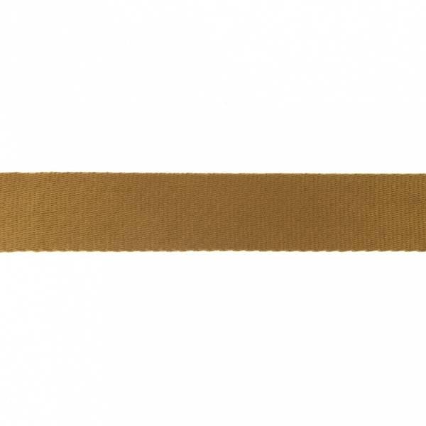 Bilde av Webbing, bomullsbånd, 38 mm, lysbrun