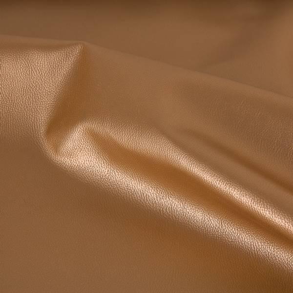 Bilde av Imitert skinn, metallic - gull