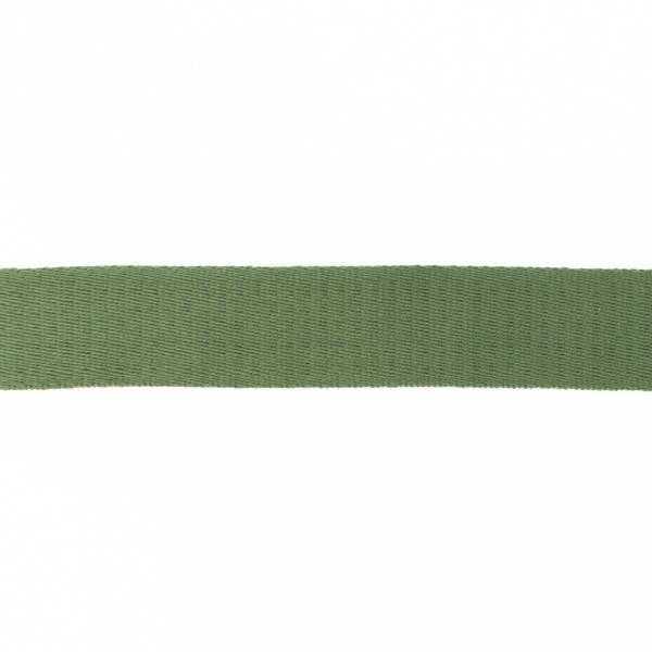 Bilde av Webbing, bomullsbånd, 38 mm, dusgrønn