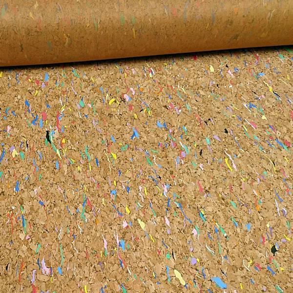 Bilde av Kork - 145 cm bred, flerfarget mønster