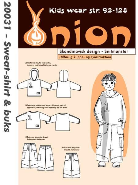 Bilde av Onion 20031 - hette-/genser & bukse