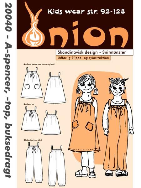 Bilde av Onion 20040 - buksedragt, A-kjole, A-topp