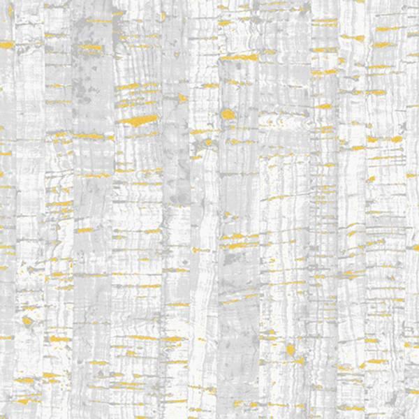 Bilde av Uncorked Birch - stoff lik kork - lysgrå