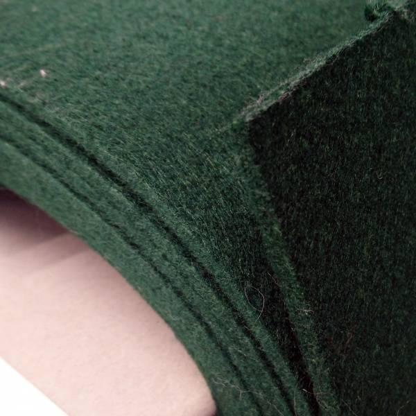 Bilde av Filt, mørk grønn, 5 mm tykk, stiv