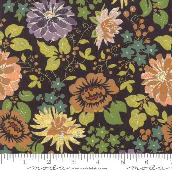 Bilde av Hallo Harvest - 5 cm blomster på mørkbrun
