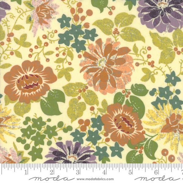 Bilde av 40 cm Hallo Harvest - 5 cm blomster på creme