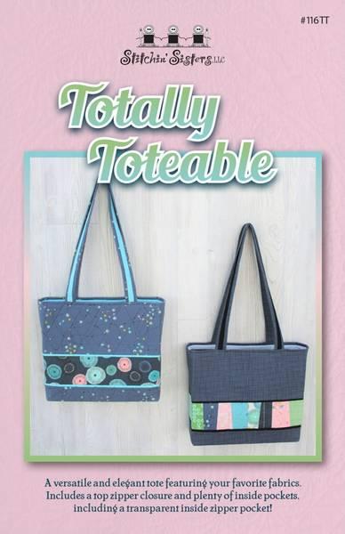 Bilde av Totally Toteable - veske med glidelås og lommer